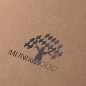 Munixwood Logo braun